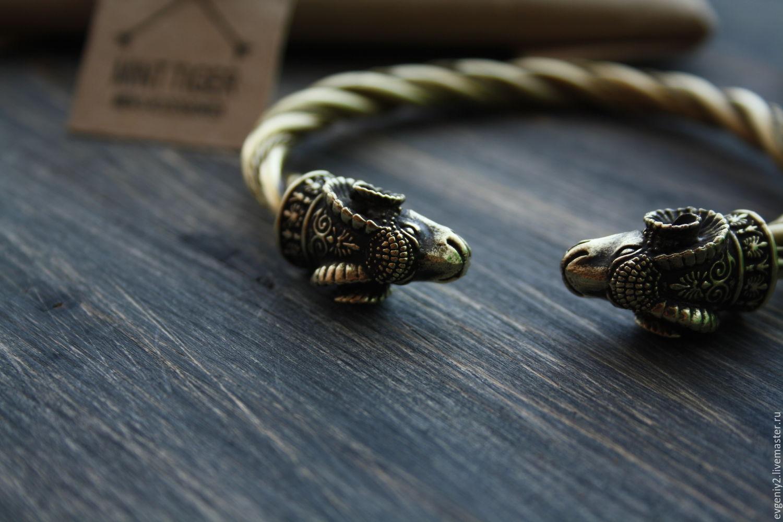 Купить браслет викинга из серебра