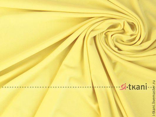 001-033 Трикотаж масло тёплое(матовое) Цвет `жёлтый` Корея 440руб  Плотность 330г  Ширина 140см