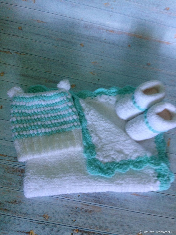 Set for newborn 0-6months, Gift for newborn, Troitsk,  Фото №1
