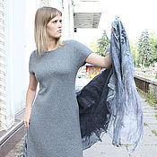 Одежда ручной работы. Ярмарка Мастеров - ручная работа платье из  кашемира с шелком. Handmade.