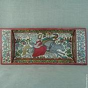 Русский стиль handmade. Livemaster - original item Vintage dish-trough