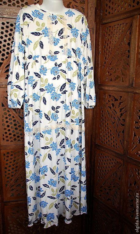 Одежда для девочек, ручной работы. Ярмарка Мастеров - ручная работа. Купить СОНЯ ночная рубашка для девочки, для сна...Ночная сорочка.... Handmade.