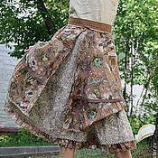 """Одежда ручной работы. Ярмарка Мастеров - ручная работа Юбка в стиле бохо """"Орнамент лета"""". Handmade."""