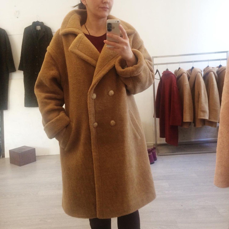 e0ef70f3997 Верхняя одежда ручной работы. Ярмарка Мастеров - ручная работа. Купить  Зимнее шерстяное пальто