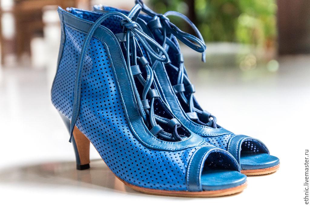 Туфли из натуральной кожи Michele . Кожаные туфли на каблуке. Maria · Обувь  ручной работы. Ярмарка Мастеров - ручная работа. Купить ... 75b3f1211c7