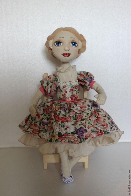 Человечки ручной работы. Ярмарка Мастеров - ручная работа. Купить Куколка. Handmade. Комбинированный, подарок девушке, синтетический наполнитель, полубусины