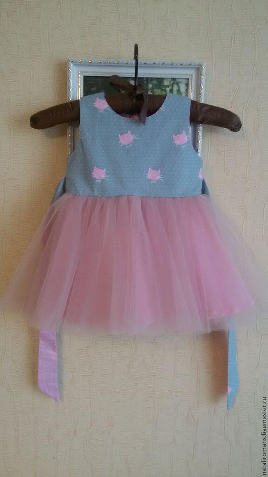 Одежда для девочек, ручной работы. Ярмарка Мастеров - ручная работа. Купить Платье для девочки 100% хлопок.. Handmade. Платье