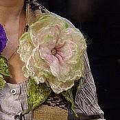 """Украшения ручной работы. Ярмарка Мастеров - ручная работа Брошь """"Дикий цветок"""" улетела за океан. Handmade."""