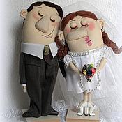 Свадебный салон ручной работы. Ярмарка Мастеров - ручная работа Жених и Невеста. Handmade.