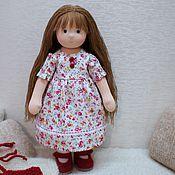 Куклы и игрушки ручной работы. Ярмарка Мастеров - ручная работа Клюквинка, 32 см. Handmade.