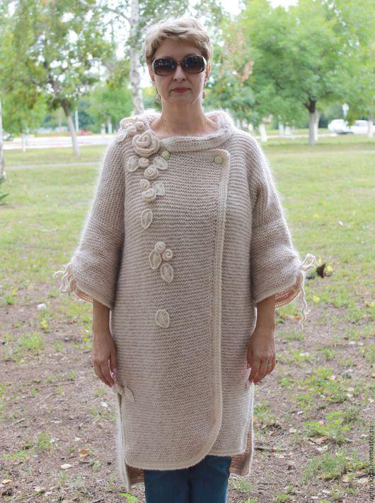 Верхняя одежда ручной работы. Ярмарка Мастеров - ручная работа. Купить Пальто женское демисезонное. Осеннее пальто.. Handmade. Пальто