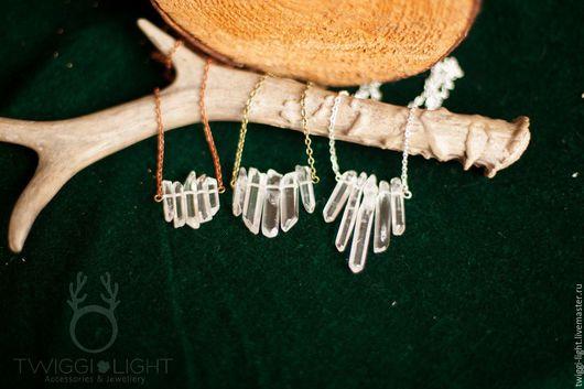 """Кулоны, подвески ручной работы. Ярмарка Мастеров - ручная работа. Купить Кулоны из кристаллов """"Shatter"""". Handmade. Белый, матовый"""