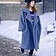 """Верхняя одежда ручной работы. Пальто- кокон """"Street-fashion"""". Look1. Лана КМЕКИЧ de Marlen (lanakmekich). Интернет-магазин Ярмарка Мастеров."""