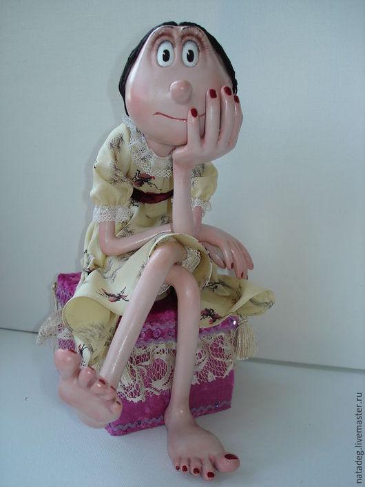 Коллекционные куклы ручной работы. Ярмарка Мастеров - ручная работа. Купить Гламур. Авторская интерьерная кукла.. Handmade. Коллекционная кукла