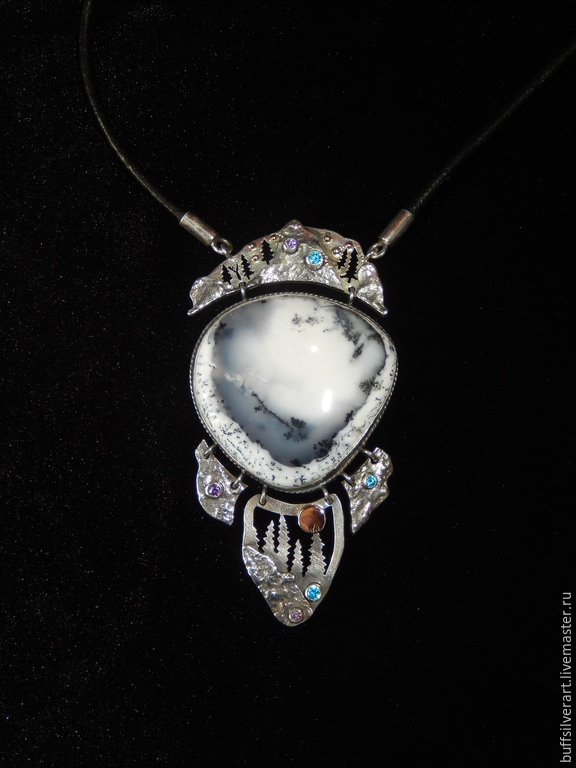 The suspension of silver 'Pool of the shaman', Pendants, Ekaterinburg,  Фото №1