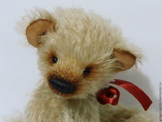 Мишки Тедди ручной работы. Ярмарка Мастеров - ручная работа. Купить Мишка Степа. Handmade. Бежевый, ручная работа, пушистый
