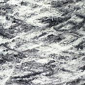 """Материалы для творчества ручной работы. Ярмарка Мастеров - ручная работа """"Кошачий"""" мех, цвет бело-серый, Италия, 50 гр. Handmade."""