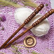 Материалы для творчества handmade. Livemaster - original item Wooden knitting needles 12mm/305#5. Handmade.