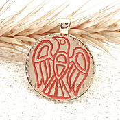 Фен-шуй и эзотерика handmade. Livemaster - original item Amulet of Perun,Slavic charms charms enamel. Handmade.