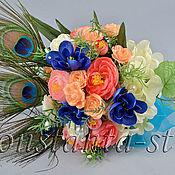 Свадебный салон ручной работы. Ярмарка Мастеров - ручная работа Букеты-дублёры из искусственных цветов. Handmade.