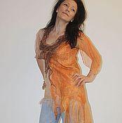 """Одежда ручной работы. Ярмарка Мастеров - ручная работа Туника """" Рыжее счастье """". Handmade."""