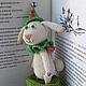Сказочные персонажи ручной работы. Ярмарка Мастеров - ручная работа. Купить Детство Белого кролика. Handmade. Разноцветный, амигуруми, волшебство