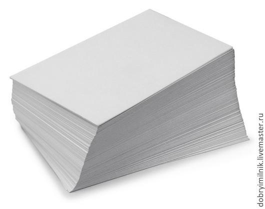 Упаковка ручной работы. Ярмарка Мастеров - ручная работа. Купить Самоклеющаяся бумага (лист А4) 5листов. Handmade. Белый, наклейки