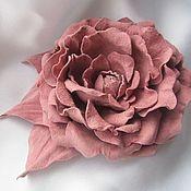 Украшения handmade. Livemaster - original item Brooch delicate rose. Handmade.