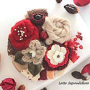 """Украшения ручной работы. Ярмарка Мастеров - ручная работа брошь из войлока """"Осенние ягоды"""". Handmade."""
