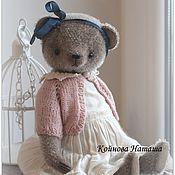 Куклы и игрушки ручной работы. Ярмарка Мастеров - ручная работа Мишка в розовой кофточке. Handmade.