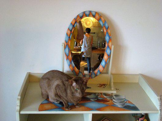 """Мебель ручной работы. Ярмарка Мастеров - ручная работа. Купить """"Алиса"""" комод и зеркало. Handmade. Алиса в стране чудес"""