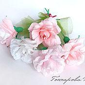 Цветы и флористика ручной работы. Ярмарка Мастеров - ручная работа Сладкая роза. Handmade.