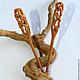 """Заколки ручной работы. Ярмарка Мастеров - ручная работа. Купить Шпильки для волос из дерева комплект """"Пагода"""" (бук). Handmade."""