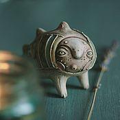 Свистульки ручной работы. Ярмарка Мастеров - ручная работа Свистулька рыбья. Handmade.