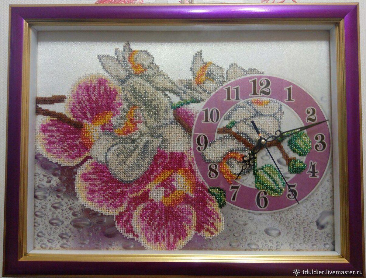 """Часы """"Орхидея"""", Часы классические, Псков,  Фото №1"""