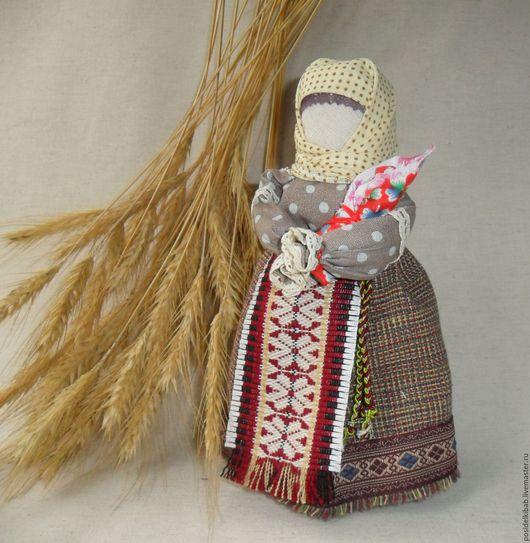 Народные куклы ручной работы. Ярмарка Мастеров - ручная работа. Купить Народная кукла Нянюшка-бабушка. Handmade. Разноцветный, хлопок