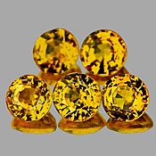 Материалы для творчества handmade. Livemaster - original item Sapphire yellow 3.2 mm. VVS. Handmade.