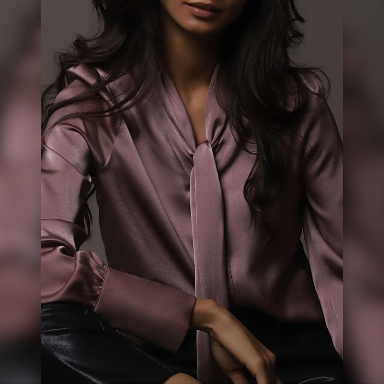 Блузка ягодно-серого оттенка, Блузки, Москва,  Фото №1