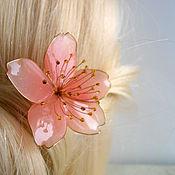 Украшения handmade. Livemaster - original item Sakura flower. Handmade.
