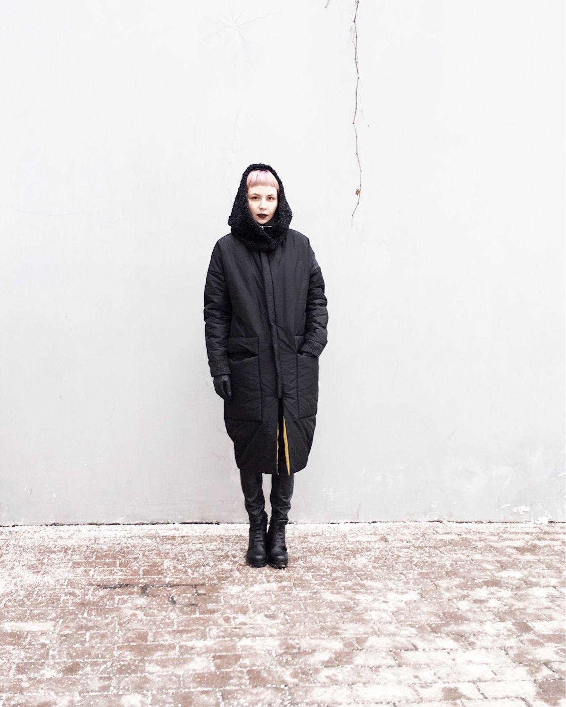 8748bd94000 Верхняя одежда ручной работы. Ярмарка Мастеров - ручная работа. Купить  Зимняя куртка-пальто ...
