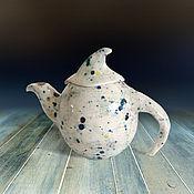 """Посуда ручной работы. Ярмарка Мастеров - ручная работа Чайник """"Веселый шабаш"""". Handmade."""