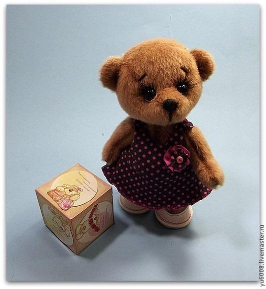 Мишки Тедди ручной работы. Ярмарка Мастеров - ручная работа. Купить Мишка тедди Горошинка. Handmade. Коричневый, мишутка тедди