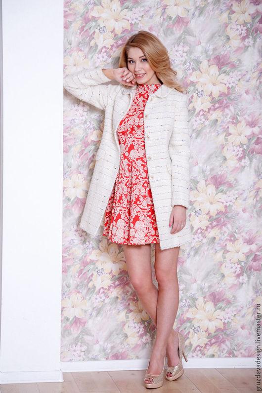 Пиджаки, жакеты ручной работы. Ярмарка Мастеров - ручная работа. Купить Жакет Sharm, из мягкой шерсти. Handmade. Комбинированный, жилет