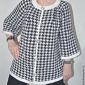 Одежда ручной работы. Ярмарка Мастеров - ручная работа кардиган вязаный женский. Handmade.