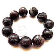 Материалы для творчества ручной работы. Ярмарка Мастеров - ручная работа Яшма 11 камней набор крупные бусины гладкий шар темные. Handmade.