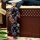 """Лариаты ручной работы. Ярмарка Мастеров - ручная работа. Купить Лариат """"Виноградная лоза"""" в медном, бронзовом и серебристом. Handmade. Лариат"""