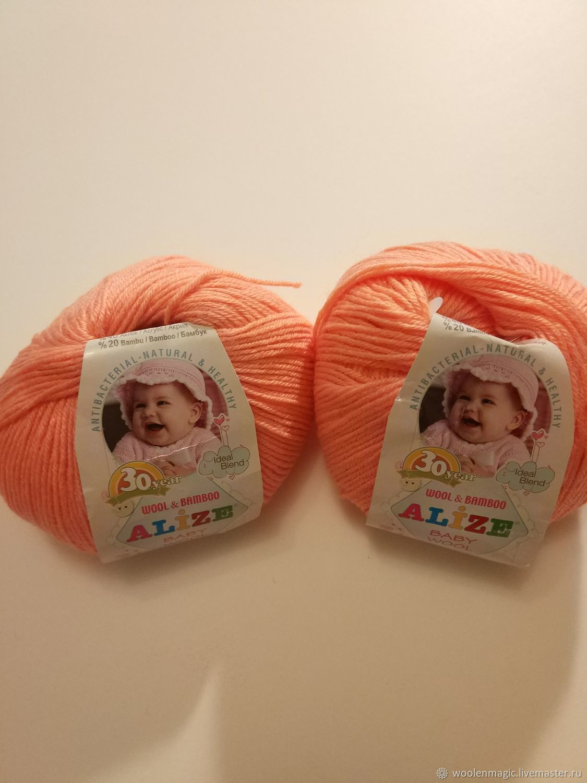 пряжа ализе плетение