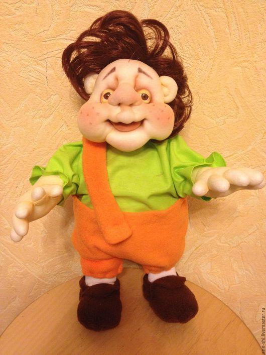 Коллекционные куклы ручной работы. Ярмарка Мастеров - ручная работа. Купить Карлсон.... пошалим. Handmade. Комбинированный, сказочный персонаж, хлопок