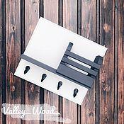 Для дома и интерьера handmade. Livemaster - original item Key holder made of wood wall mounted. Handmade.