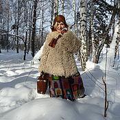 """Одежда ручной работы. Ярмарка Мастеров - ручная работа Вязаная """"овечья"""" шубка. Handmade."""